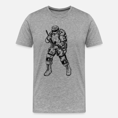 Soldiers Princess soldier - Men's Premium T-Shirt