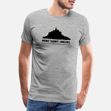 Saint Mont Saint Michel - Men's Premium T-Shirt