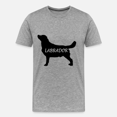 Bitch Quote LABRADOR RETRIEVER dogs gift idea - Men's Premium T-Shirt