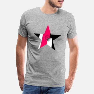 Abstract Abstract star - Men's Premium T-Shirt
