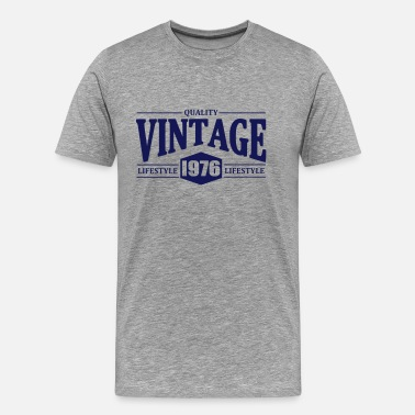 Established Vintage 1976 - Men's Premium T-Shirt