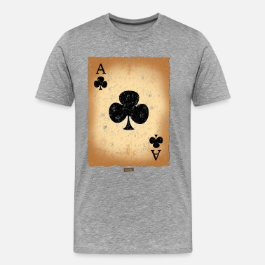 Dressing Playing Card Cross Ass HARIZ Carnival Kostuem Koeln - Men's Premium T-Shirt