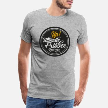 Frisbee Ultimate Frisbee Up - Premium T-shirt mænd