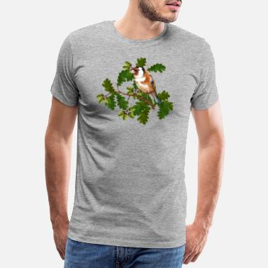 Landscape Bird - Men's Premium T-Shirt