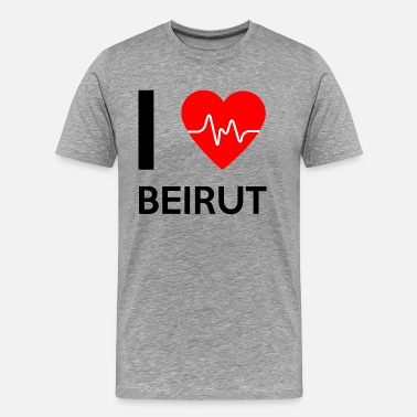 Beirut I Love Beirut - I love Beirut - Men's Premium T-Shirt