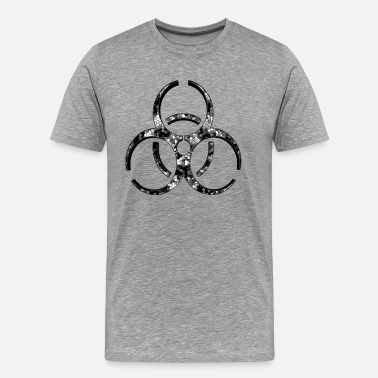 Wallpaper Atomic sign 4 - Men's Premium T-Shirt