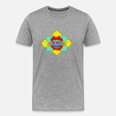 Eyebrow Third eye - Men's Premium T-Shirt