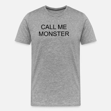 Baptist Call Me Monster - Männer Premium T-Shirt