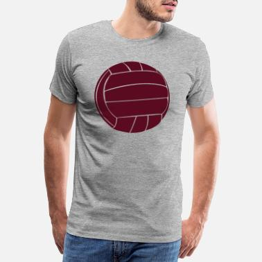 Bern Old football leather - Men's Premium T-Shirt