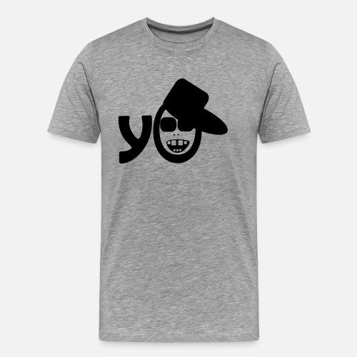 Hip Hop Rap Cool Music Breakdance del baile del rapero - Camiseta premium  hombre. detrás. detrás. Diseño. delante 59d640a98cd