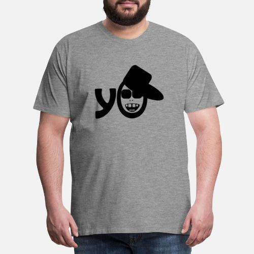 Hip Hop Rap Cool Music Breakdance del baile del rapero - Camiseta premium  hombre. detrás. detrás. Diseño. delante. delante 25f38a57fda