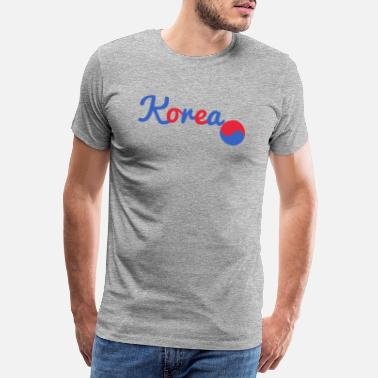 Cupid Korea colour - Männer Premium T-Shirt