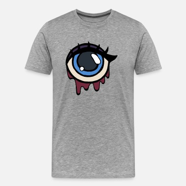 Traurigkeit Blood in my eye. - Männer Premium T-Shirt