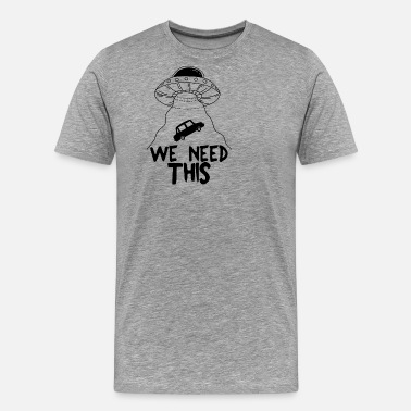 51 Year Old We need this - Men's Premium T-Shirt
