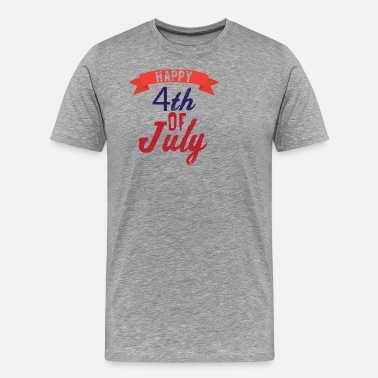 Independence Day Joyeux 4 juillet - T-shirt Premium Homme