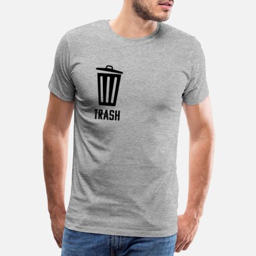 2b65a25f TRASH design Men's Premium T-Shirt | Spreadshirt