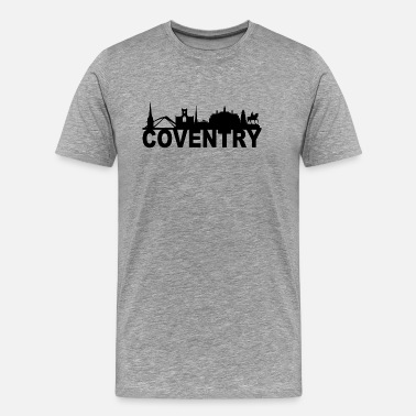 Bridge Coventry England Skyline Idée Cadeau Royaume-Uni - T-shirt Premium Homme