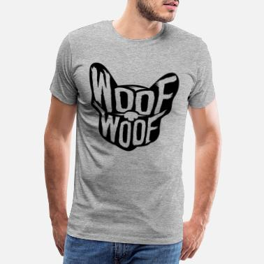 Wau Dog woof woof - Men's Premium T-Shirt