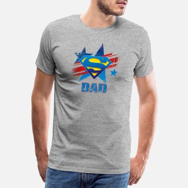 S-shield Superman 'S-Shield Dad' Men T-Shirt - Miesten premium t-paita