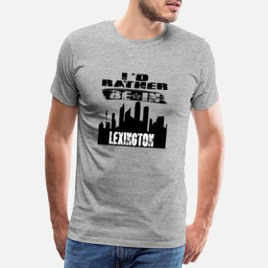 Lexington Gift Identiteitskaart eerder in Lexington - Mannen premium T-shirt