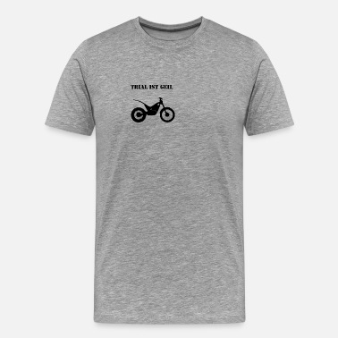 Trial Trial is cool - Men's Premium T-Shirt