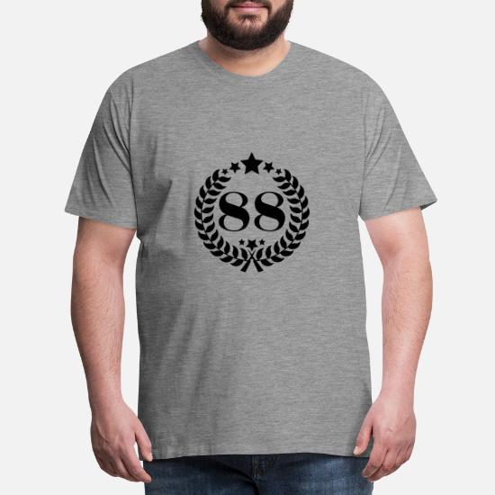 59 Geburtstag Kranz Jahrgang Geschenk Jubiläum Birthday Männer Premium T-Shirt