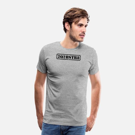 Homosexual T-Shirts - too cute to be straight (1-2c) - Men's Premium T-Shirt heather grey