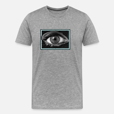 Blink Look to my eye - Men's Premium T-Shirt