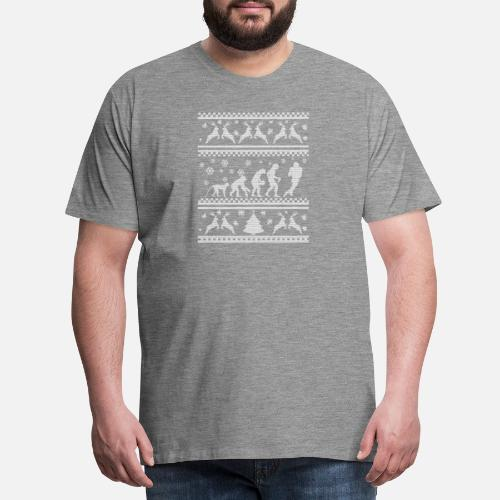 fútbol feo suéter de la Navidad Camiseta premium hombre  3f6a901b8055