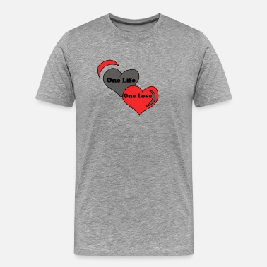 Princess Prince One Life One Love - Männer Premium T-Shirt