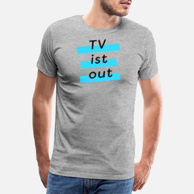 Luxemburg TV - Premium T-shirt herr