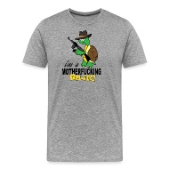 Front & Gangster turtle gift Cool Menu0027s Premium T-Shirt | Spreadshirt