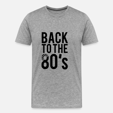 80s Child Back to the 80s - Men's Premium T-Shirt
