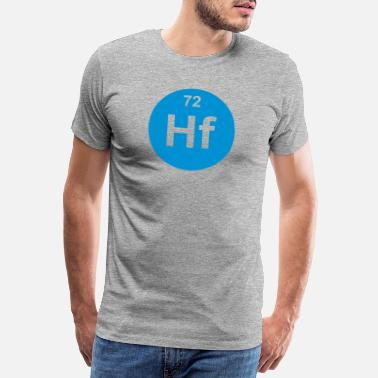 Seventy Hafnium (Hf) (element 72) - Men's Premium T-Shirt