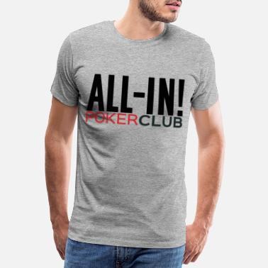 Omaha ALL-IN POKER CLUB - T-shirt premium Homme