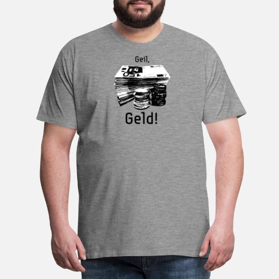 0d4d9ea7cd79 Kåt, pengar! Premium T-shirt herr | Spreadshirt