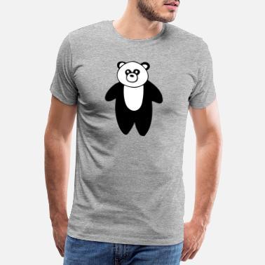 0bde0a25c Panda Cute Panda drawing - Men's Premium T-Shirt