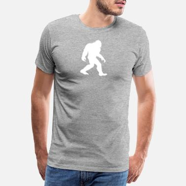 Seguimiento Bigfoot Cool I Believe Sasquatch Walking Believers - Camiseta premium hombre