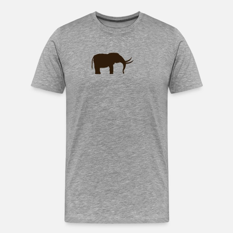 80b0ba085e8b Elephant T-Shirts - mammoth woolly elephant elephant mammut1 - Men s  Premium T-Shirt