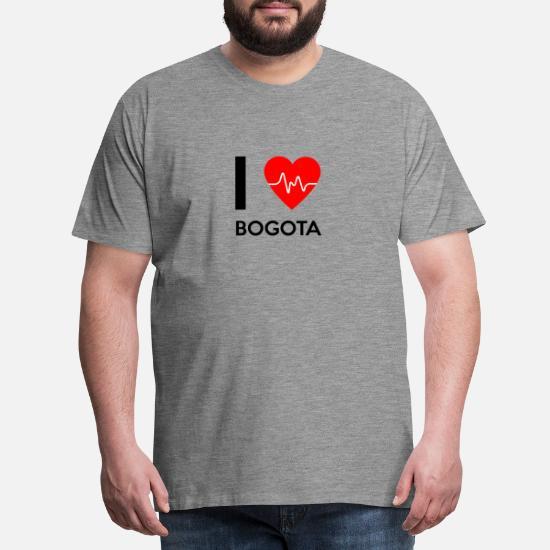 I Love Heart Bogota Black Sweatshirt