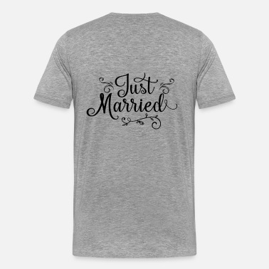 Vive Les Maries Just Married - T-shirt Premium Homme