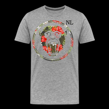 Nl chimp - Men's Premium T-Shirt