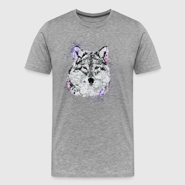 ░ ▲ Geometry Wolf ▲ ░ - Men's Premium T-Shirt