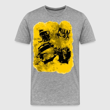 Run Riot - Men's Premium T-Shirt