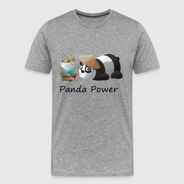 Panda Power - Men's Premium T-Shirt