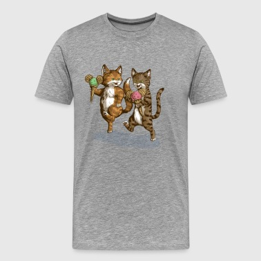 Mice-Cream-Kittens - Premium-T-shirt herr