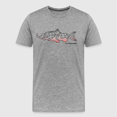 Salmon guilde vol - T-shirt Premium Homme