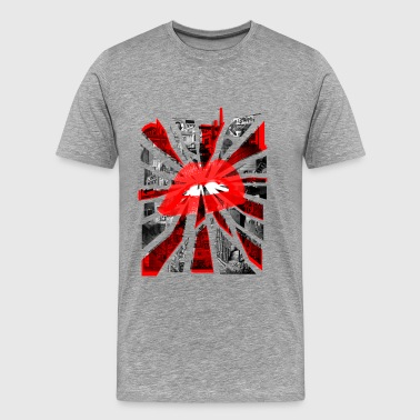 Kiss Britain - Men's Premium T-Shirt