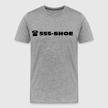 555 - SHOE The shoe emergency call  - Men's Premium T-Shirt