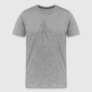 man polygon - Premium-T-shirt herr